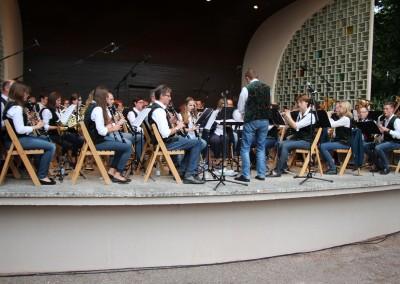 Stadtkapelle beim Musikpicknick 2015