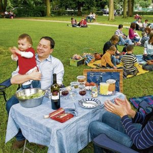 Musikpicknick im Park