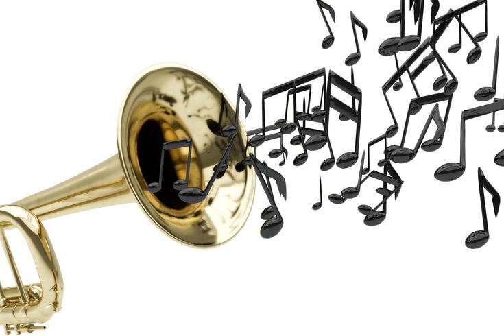 Trompete, Musik, Noten, Konzert
